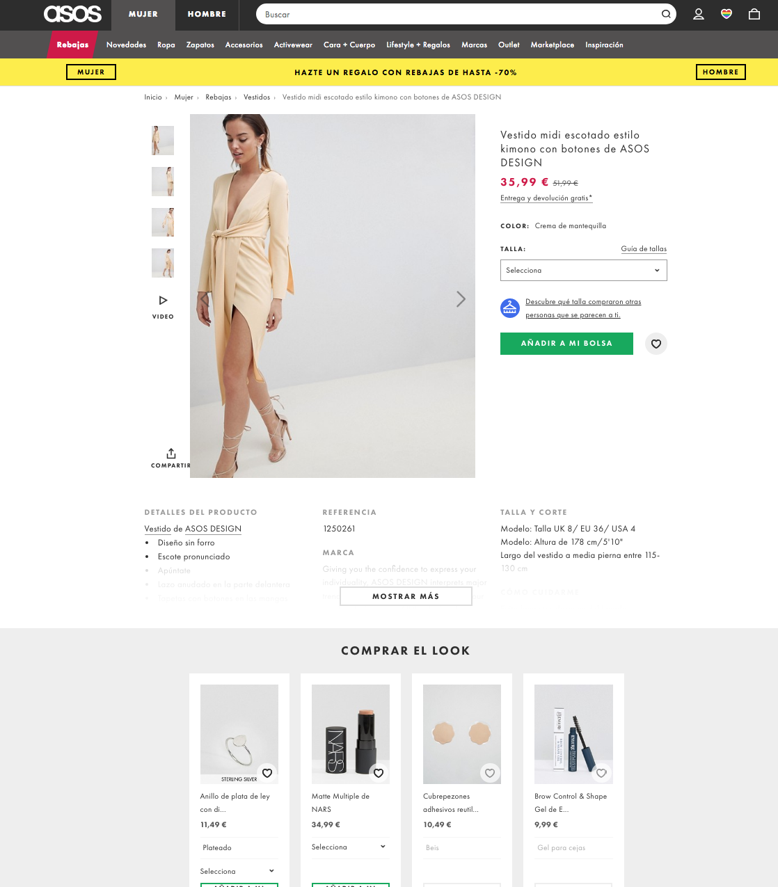 Cross-Selling personalization example
