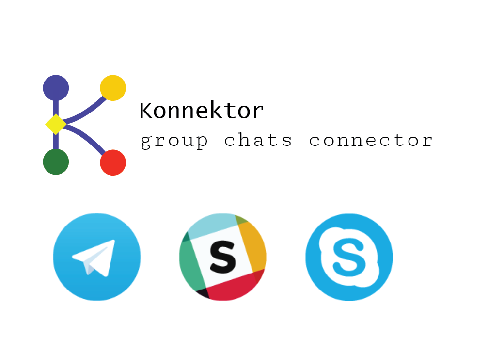 Konnektor helps connect chatrooms and groups when they're running on different services