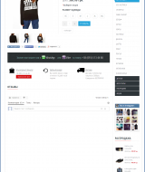 Redesign of an online store elite youth clothing | Evergreen projects 4