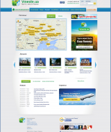 Vmeste.ua conceived as a portal where you can find and see any hotel in Ukraine, and order a number of services, from booking accommodation to tours in different regions of Ukraine. | Evergreen projects | Evergreen projects 2