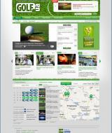 Portal of golfers from all over the CIS | Evergreen projects 3
